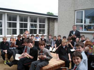 A photo of one of our outdoor Saint Laurence's classes_1