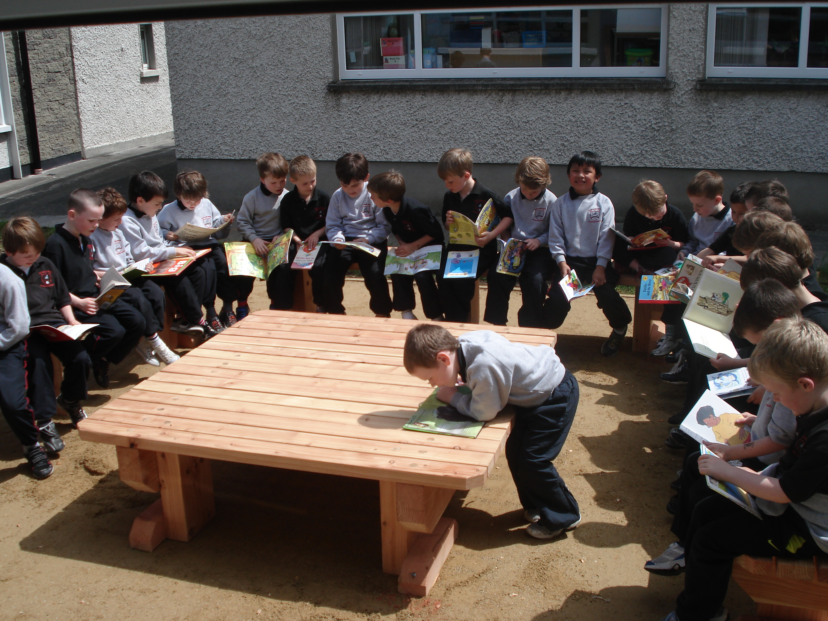 A photo of one of our outdoor Saint Laurences classes_11