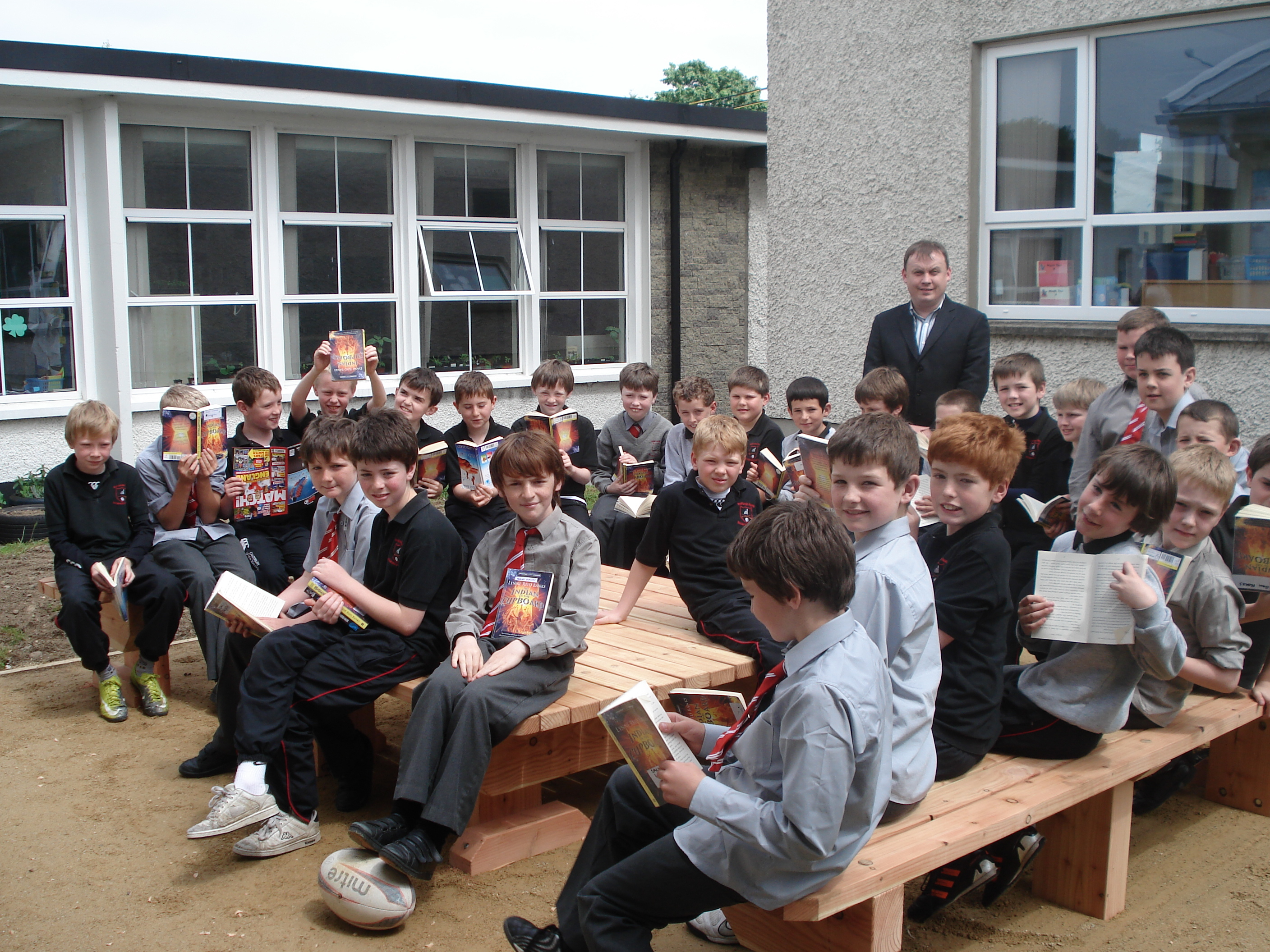 A photo of one of our outdoor Saint Laurences classes_7