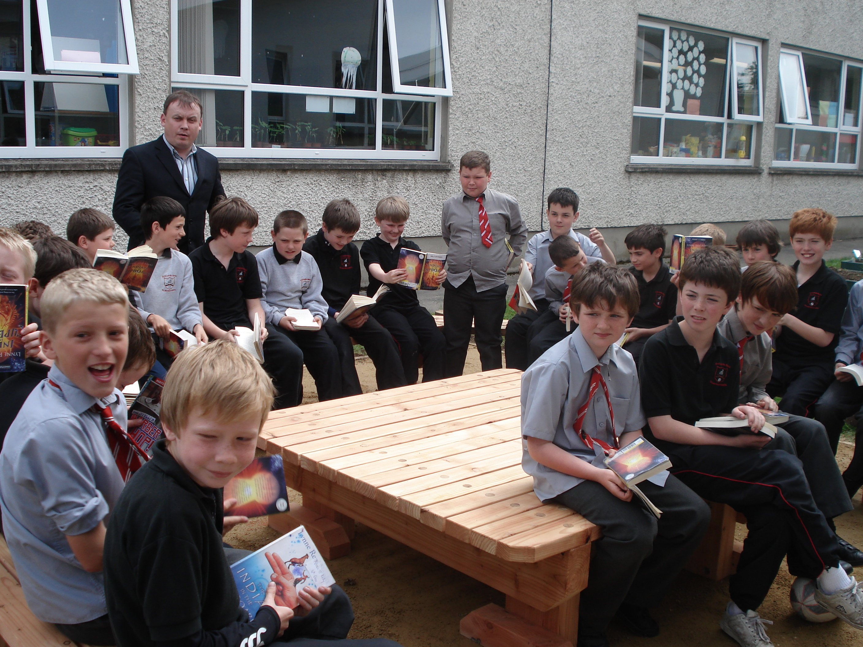 A photo of one of our outdoor Saint Laurences classes_8